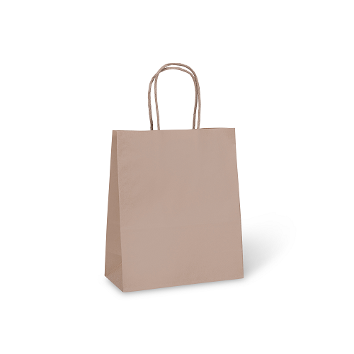 Kraft Carry Bag #8 Petite (180 x 85 x 215mm)