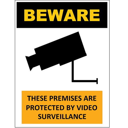 Beware Video Surveillance