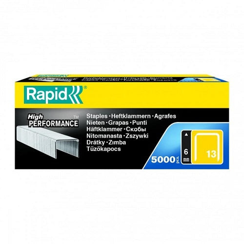 Rapid 13/6 Staples