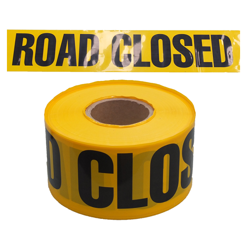 Road Closed Tape