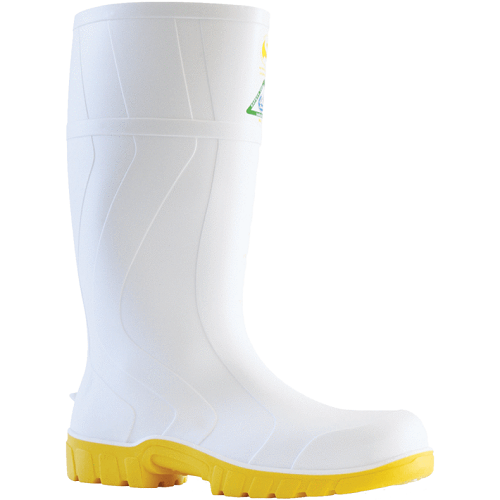 Bata Safetmate White Safety Gumboots