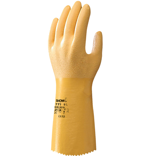 Showa 771 Nitrile Coated Gloves