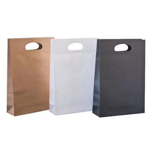 White Small Carry Bags (230 x 80 x 340mm)