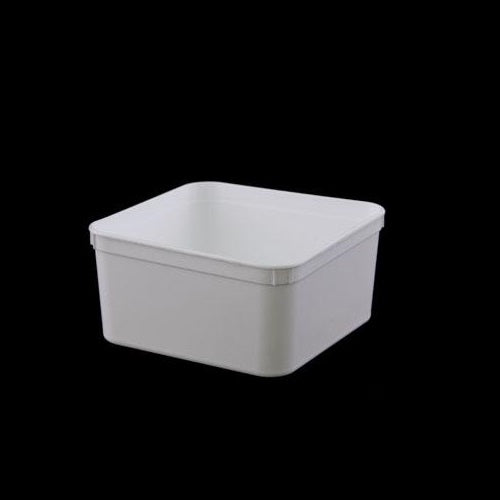 Square White Tubs
