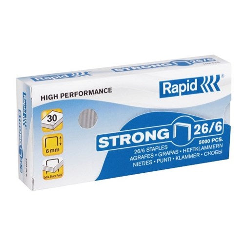 Rapid 26/6 Staples STRONG