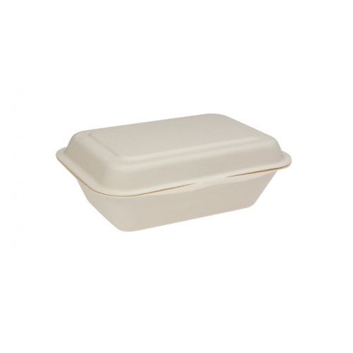Sugarcane Food Clam 185 x 135 x 64mm