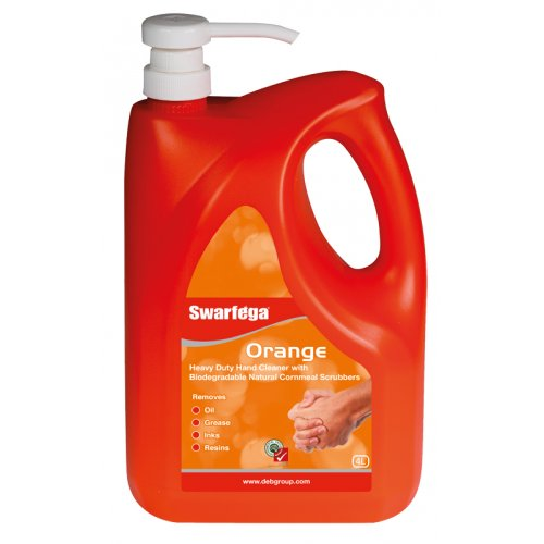 Swarfega Orange 4Lt Pump Bottle
