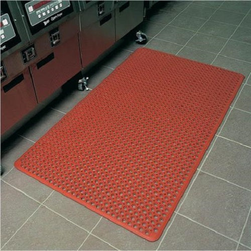 WorkSave Junior Rubber Mat Terracotta