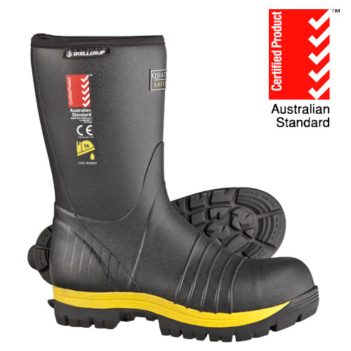 Quatro Calf Insulated Safety Gumboots