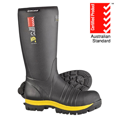 Quatro Knee Insulated Safety Gumboots