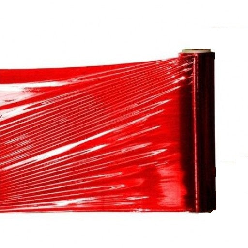 Red Hand Pallet Wrap