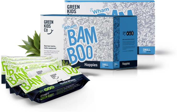 Wham Bamboo Bundle - Green Kids Co
