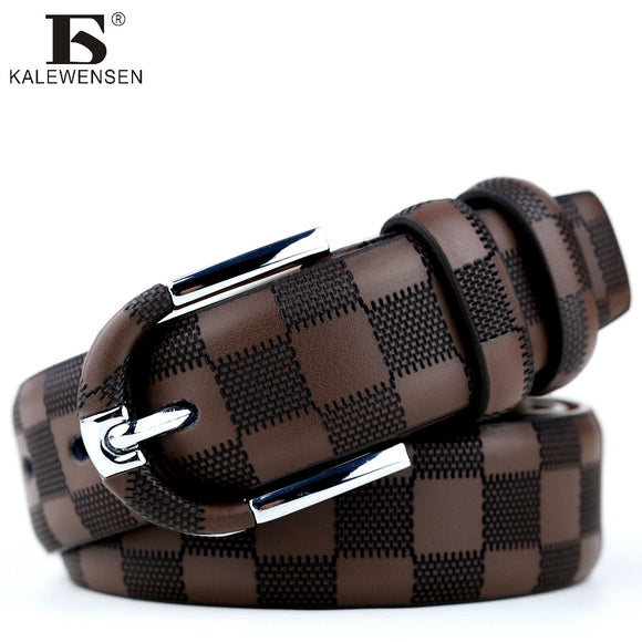 11c77ad7b78 2017 fashionable mens belts pin buckle branded belts for men genuine leather  black brown 3.5cm