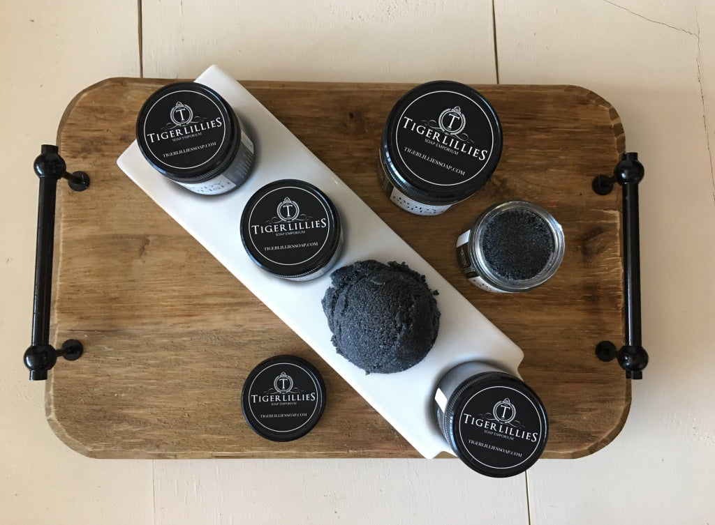 Citrus Charcoal Foaming Sugar Scrub Foaming