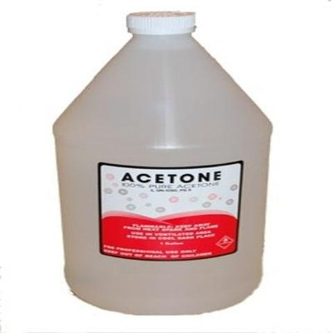 Pure Acetone1 gallon (For nails)