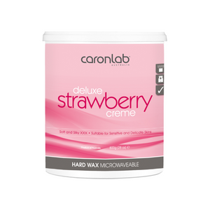 Deluxe Strawberry Hard Wax Crème 800g (Qty of 12)