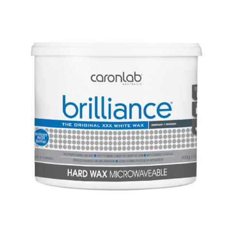 Brilliance Hard Wax - Microwavable 400 gm (Qty of 24)