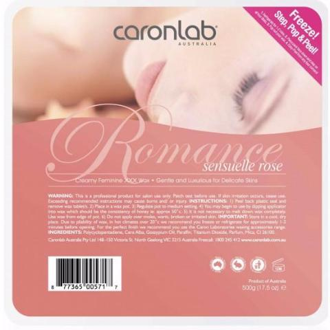 Romance Hard Crème Wax 500g (Qty of 24)
