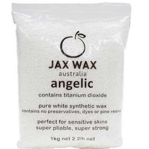 Angelic White Synthetic Titanium Beads 1kg (Qty of 12)