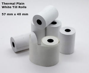 Credit card paper receipt roll (Qty of 10)