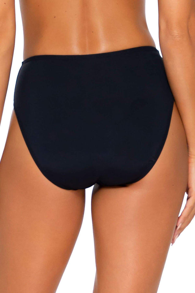 Sunsets Swimwear Black Basic Bottom