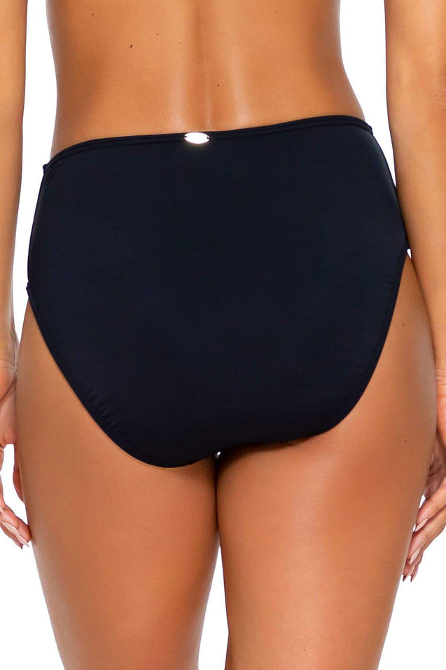 Sunsets Swimwear Black High Road Bottom