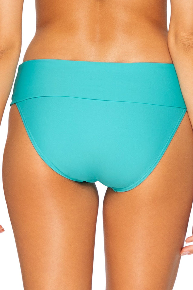 Sunsets Swimwear Seaside Aqua Hannah High Waist