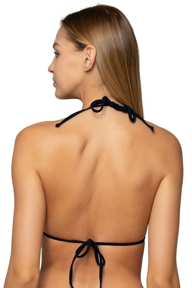 Sunsets Swimwear Black Starlette Triangle