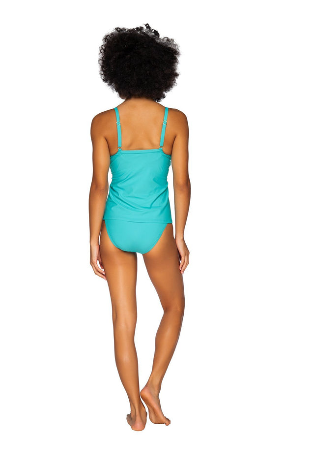 Sunsets Swimwear Seaside Aqua Forever Tankini