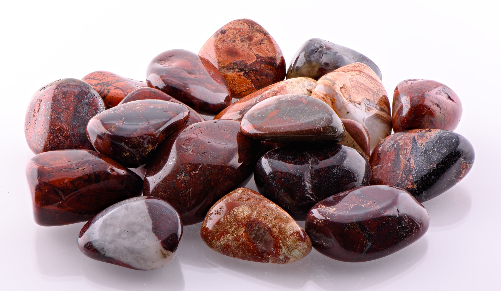 Brecciated Jasper Gemstone