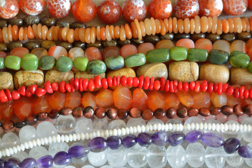 Beads, Cabochons