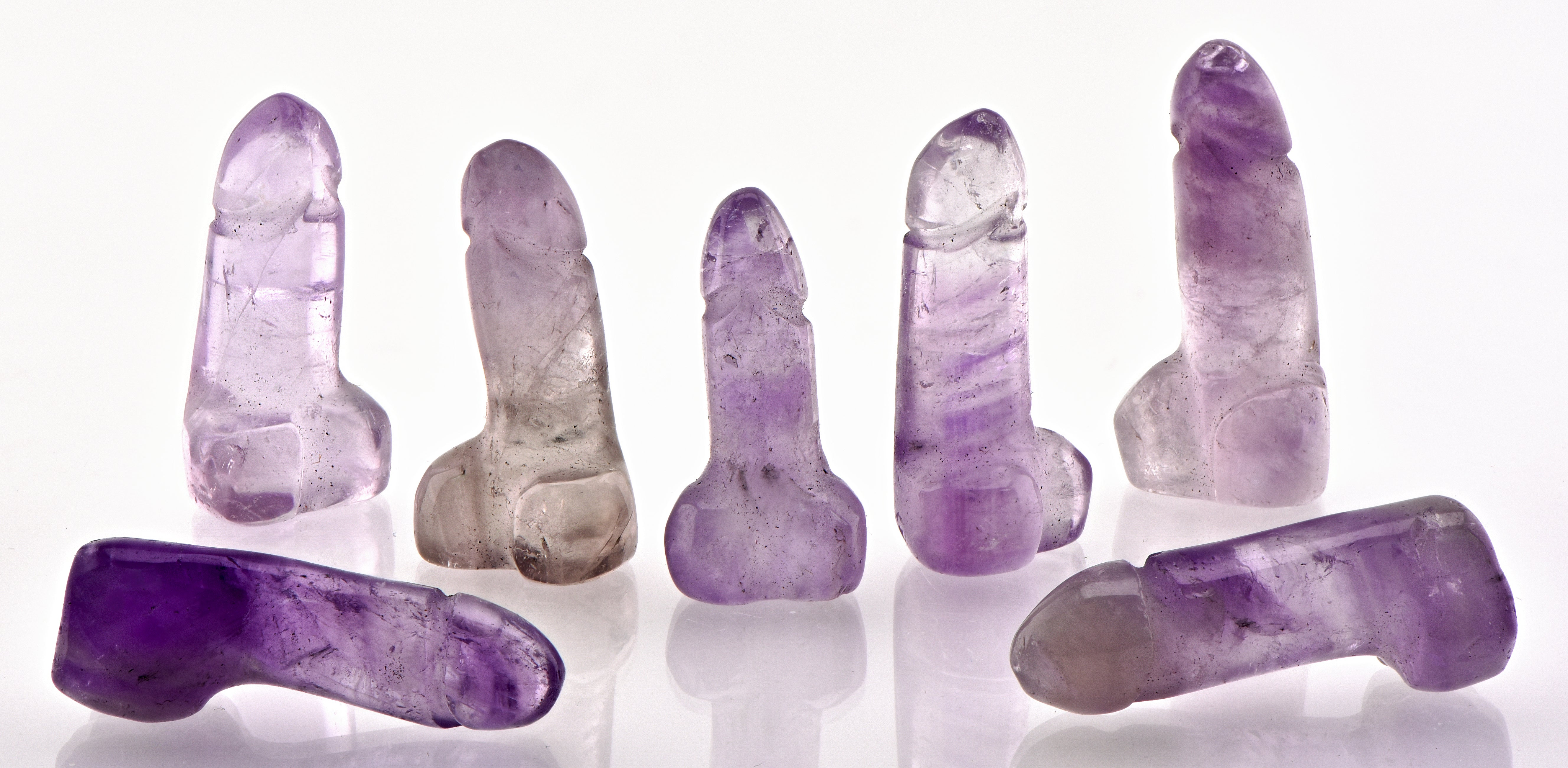 Gemstone Carvings, Phalluses, and More
