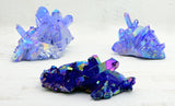 Tanzine Purple Aura Quartz Cluster Meaning Creation