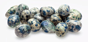 K2 Jasper Azurite In Granite Polished Tumbled Gemstone Gemstones