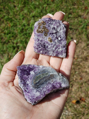 Amethyst Stalactite Natural Cluster - Floral Crystal Clusters