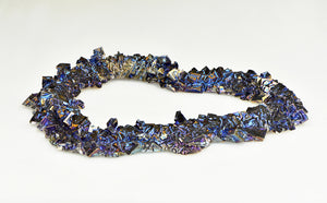 Bismuth Gemstone Heart