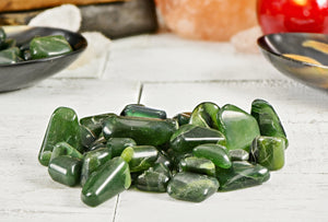 Bowenite Green Polished Tumbled Gemstone Gemstones