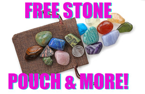 Free Stone Pouch With Orders & Over $75 Special Gift - See Details Inside!