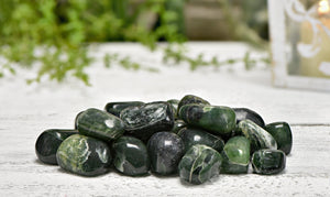 Green Kyanite Polished Tumbled Gemstone Gemstones
