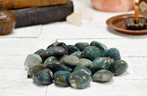 Moss Agate Polished Tumbled Gemstone Gemstones