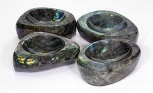 Labradorite Gemstone Bowl Carvings