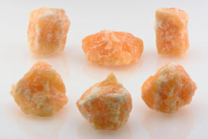 Orange Calcite Raw Rough Gemstone & Gemstones
