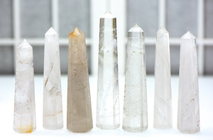 Quartz Gemstone Obelisk Tower Point Stone Obelisks & Towers
