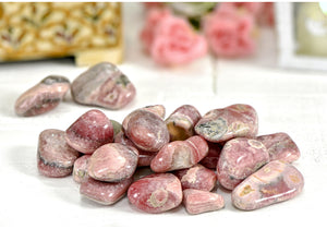 Rhodocrosite Polished Tumbled Gemstone - Large Gemstones