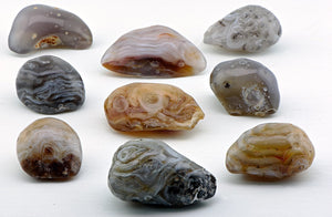 Agate Enhydro Polished Gemstone Natural Stones