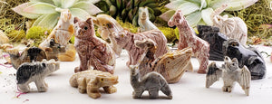 Dolomite Gemstone Animal Carvings- Large Carvings