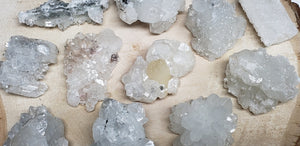 Apophyllite Gemstone Natural Metaphysical Cluster Crystal Clusters