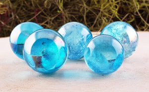 Aqua Aura Quartz Sphere Orb Stone Obelisks & Towers