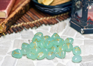 Aquamarine Gemstone Runes