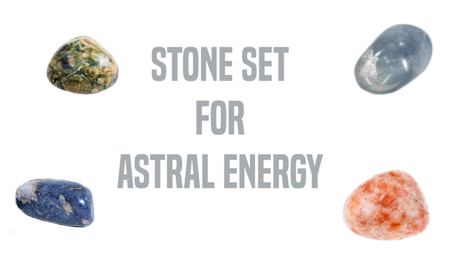 Astral Energy Gemstone Pocket Stone Set